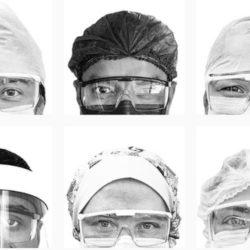 """""""Olha pra mim"""": fotógrafo pernambucano registra os olhares dos profissionais de saúde durante a pandemia do Covid-19"""