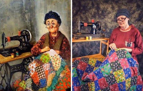 Quearteencasa: grupo recria pinturas famosas e encontra solução artística durante pandemia