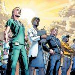 Marvel cria versão super heróis em desenho de trabalhadores essenciais inclusive agora na pandemia da Cov id 19