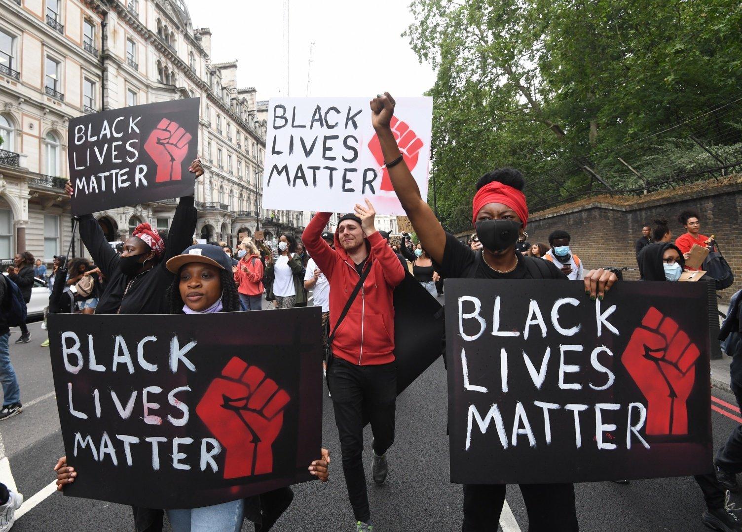 Movimento BlackLivesMatter VidasNegrasImportam 1