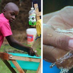 Stephen Wamukota: garoto de 9 anos usa a criatividade e cria engenhoca para ajudar moradores a lavarem as mãos e se prevenirem da COVID-19