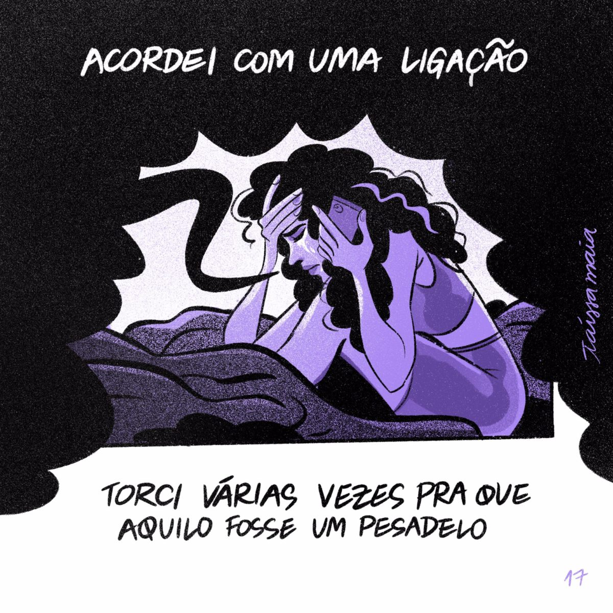 Taíssa Maia: artista faz ilustrações emocionantes sobre a morte da avó por Covid-19