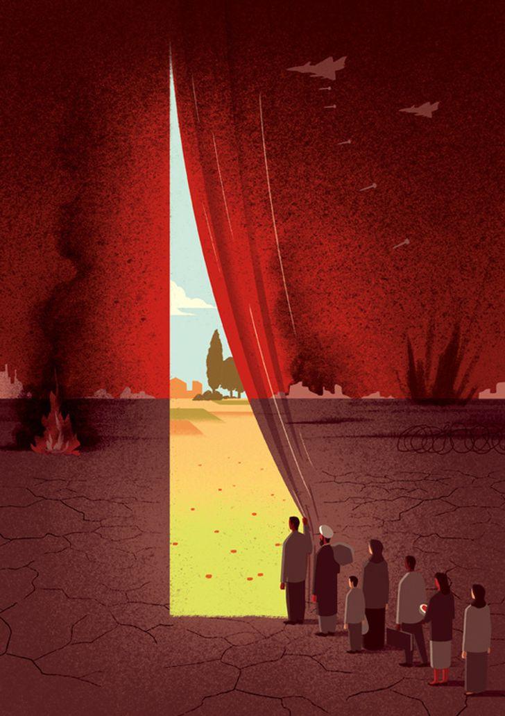Davide Bonazzi artista cria caricaturas da realidade e nos faz refletir sobre varios aspectos da vida 15