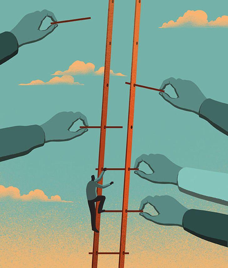 Davide Bonazzi artista cria caricaturas da realidade e nos faz refletir sobre varios aspectos da vida 20