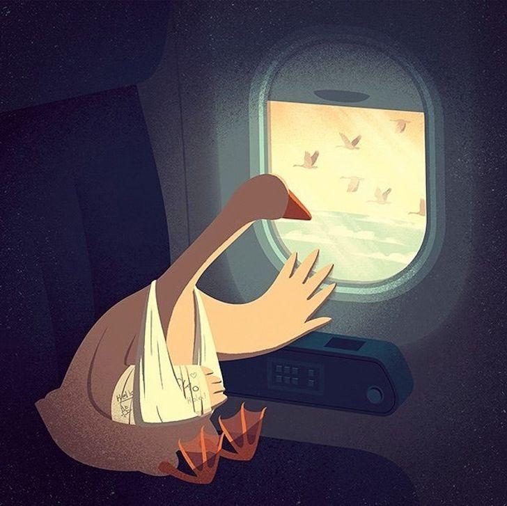 Davide Bonazzi artista cria caricaturas da realidade e nos faz refletir sobre varios aspectos da vida 21