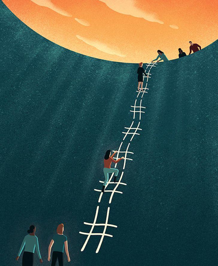 Davide Bonazzi artista cria caricaturas da realidade e nos faz refletir sobre varios aspectos da vida 4
