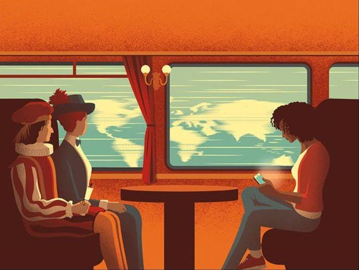 Davide Bonazzi artista cria caricaturas da realidade e nos faz refletir sobre varios aspectos da vida 5