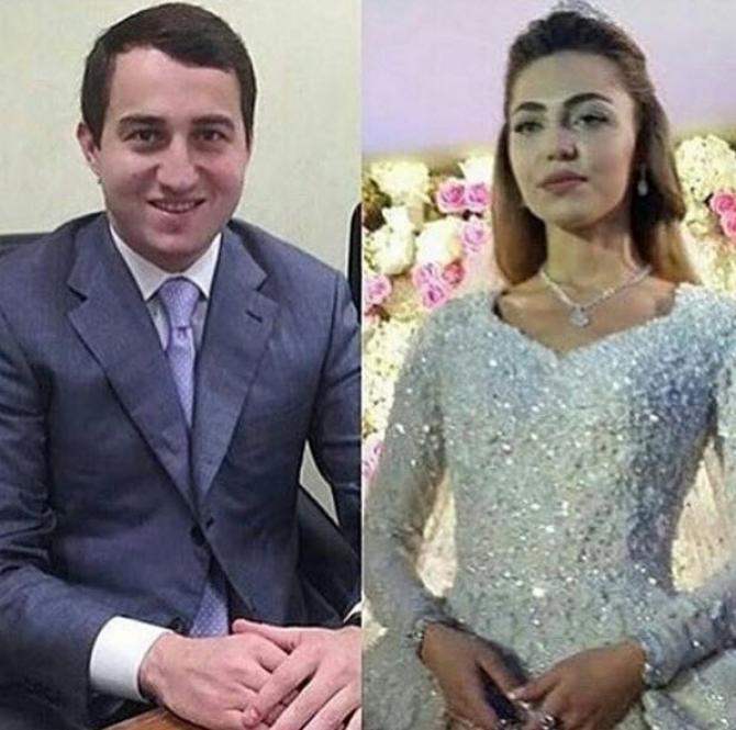 Khadija Uzhakhovs e Said Gutseriev casamento 2