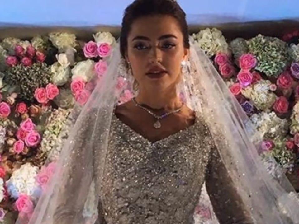 Khadija Uzhakhovs e Said Gutseriev casamento