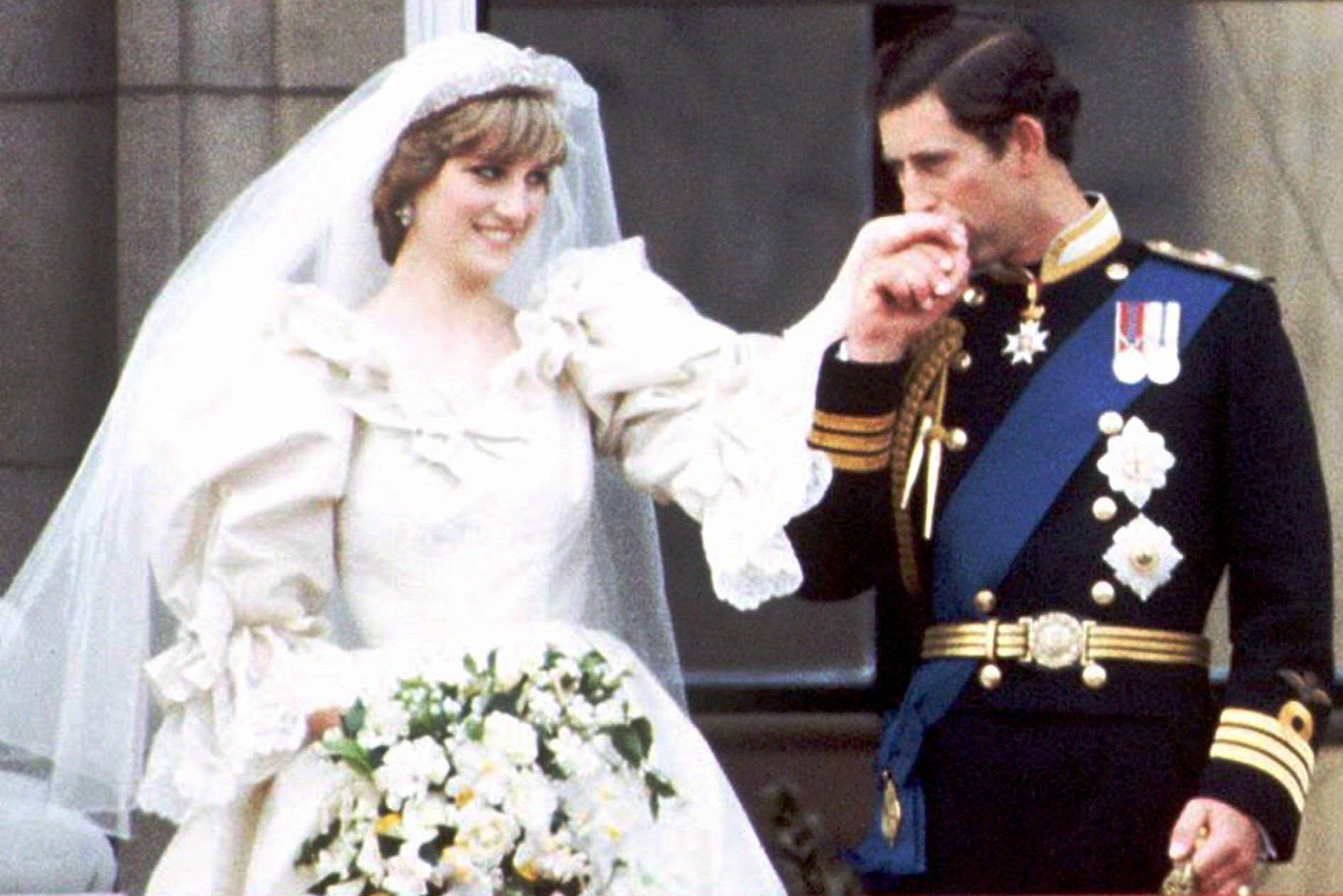 Príncipe Charles e Lady Diana casamento