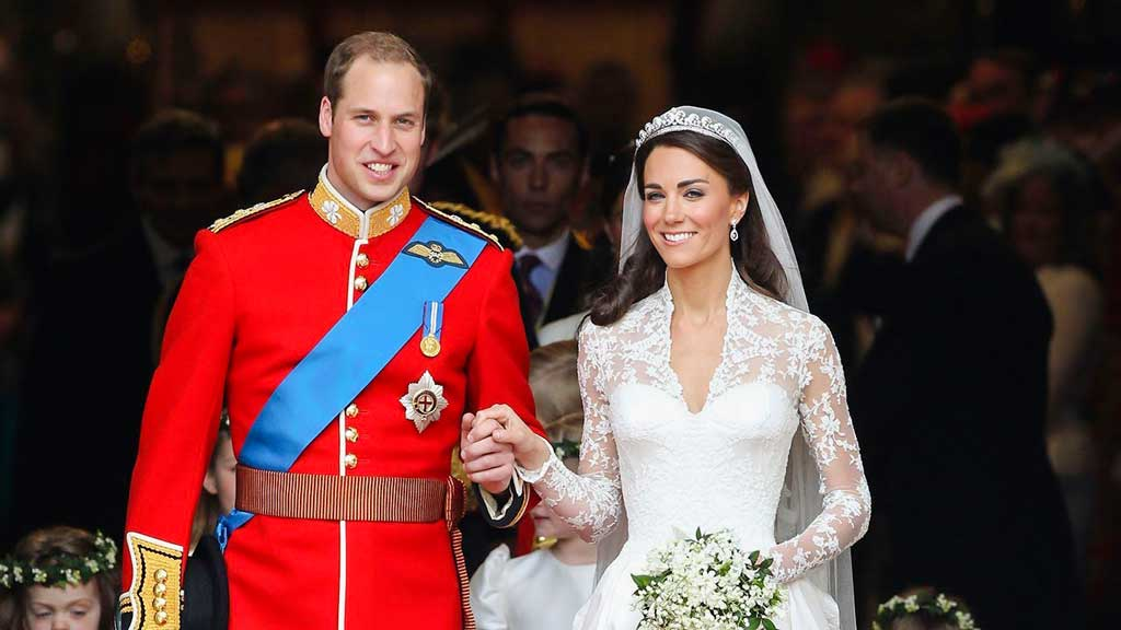 Principe William e Kate Middleton casamento