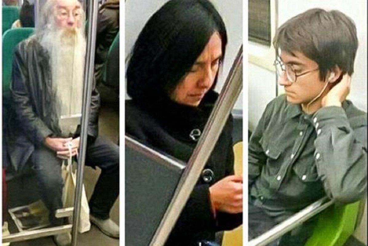 Pessoas inusitadas para encontrar no metrô