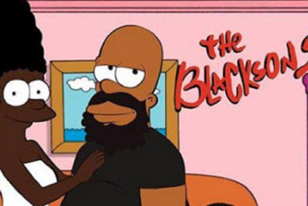 Versao negra de personagens de desenhos o artista Tyron Handy nos mostra como seria 3.1 1