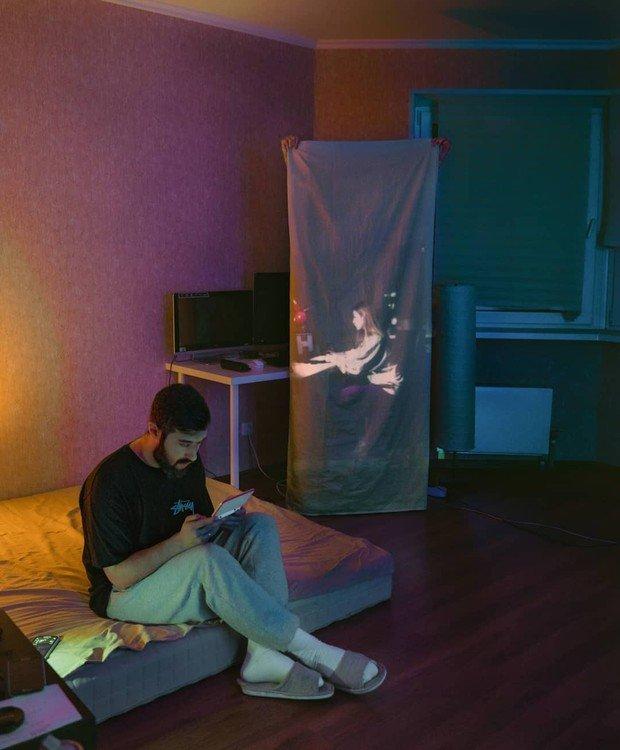 Fotografo registra fantasmas no apartamento Karman Verdi realiza uma sessao de fotos incomum na quarentena 3
