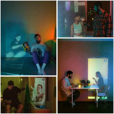 Fotografo registra fantasmas no apartamento Karman Verdi realiza uma sessao de fotos incomum na quarentena 6