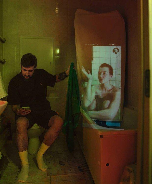 Fotografo registra fantasmas no apartamento Karman Verdi realiza uma sessao de fotos incomum na quarentena 7