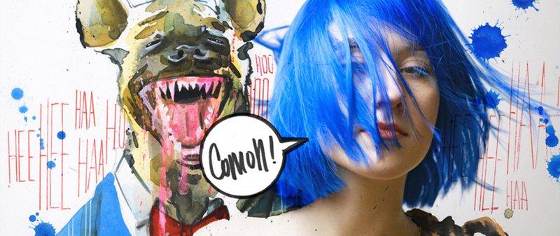 Lora Zombie artista Russa que possui uma arte obscura colorida e repleta de critica 2