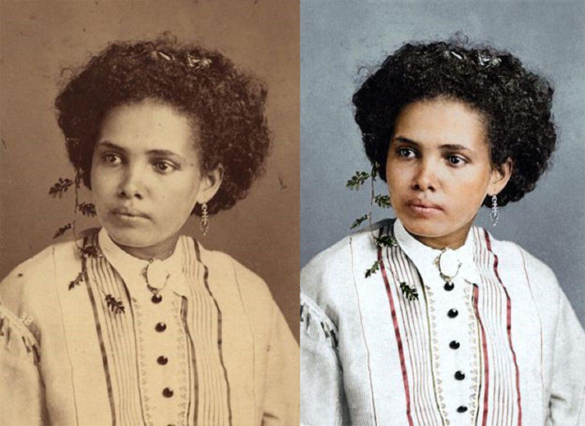 Marina Amaral artista digital restaura fotos tiradas antes da abolicao da escravidao 2
