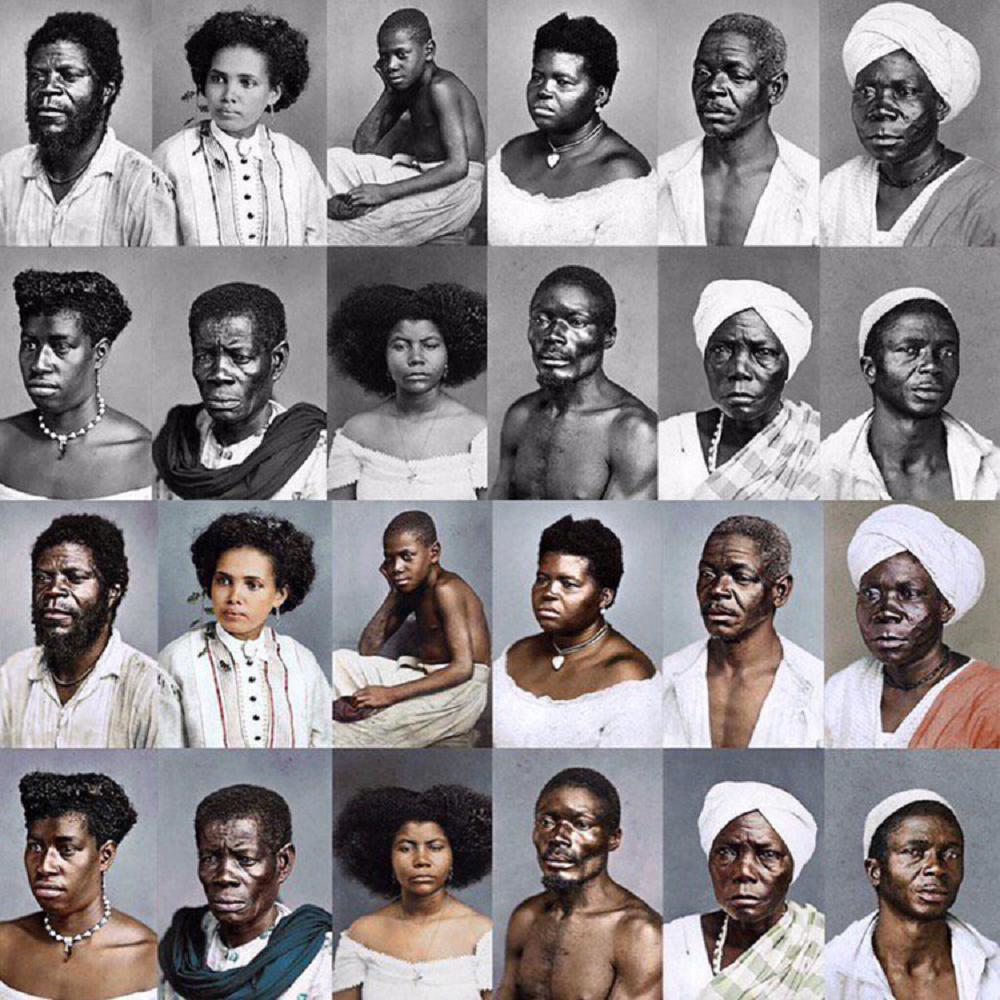 Marina Amaral artista digital restaura fotos tiradas antes da abolicao da escravidao 8