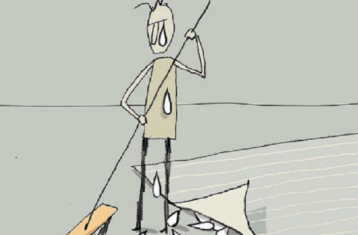 Yuval Robichek: artista israelense cria ilustrações intrigantes de situações que envolvem as relações humanas e o pensamento crítico