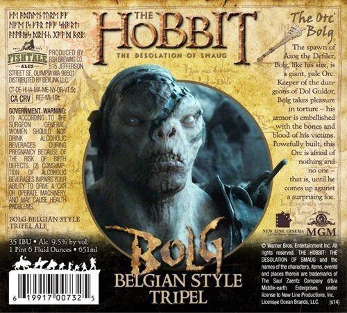 cervejas inspiradas no filme O Hobbit 2