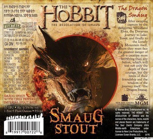 cervejas inspiradas no filme O Hobbit 3