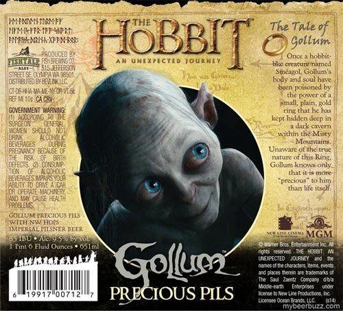 cervejas inspiradas no filme O Hobbit
