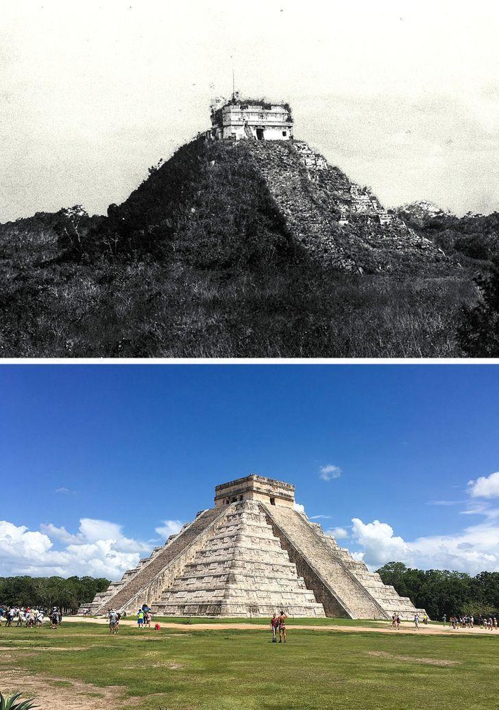 Antes e depois de alguns lugares pelo mundo 1