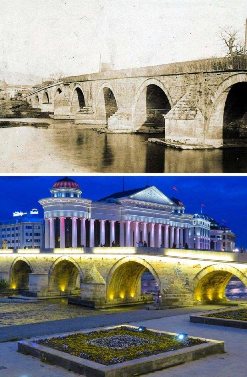 Antes e depois de alguns lugares pelo mundo 11