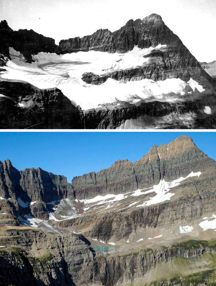 Antes e depois de alguns lugares pelo mundo 14