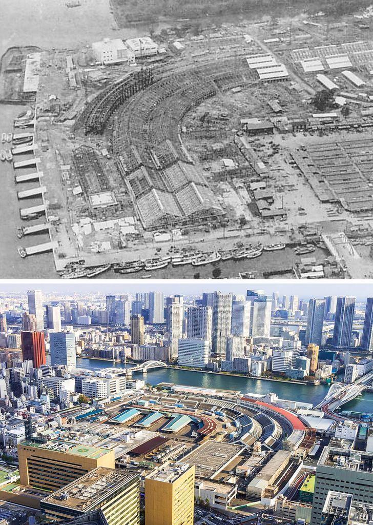 Antes e depois de alguns lugares pelo mundo 15