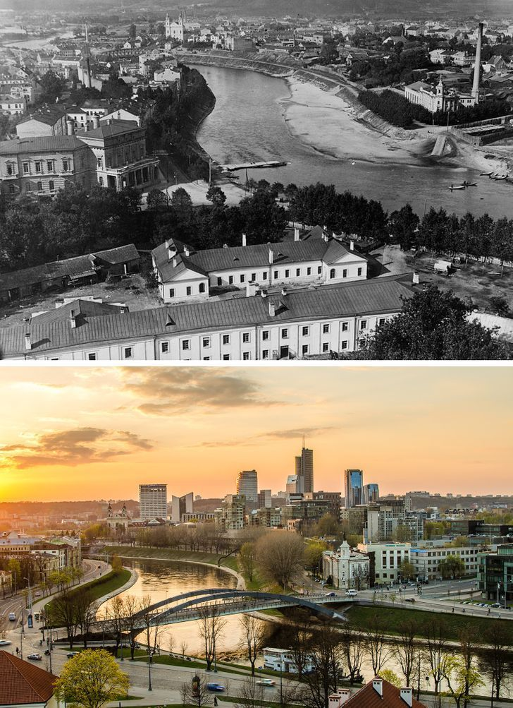 Antes e depois de alguns lugares pelo mundo 19