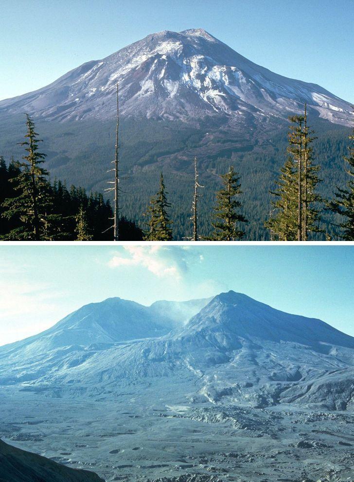 Antes e depois de alguns lugares pelo mundo 2