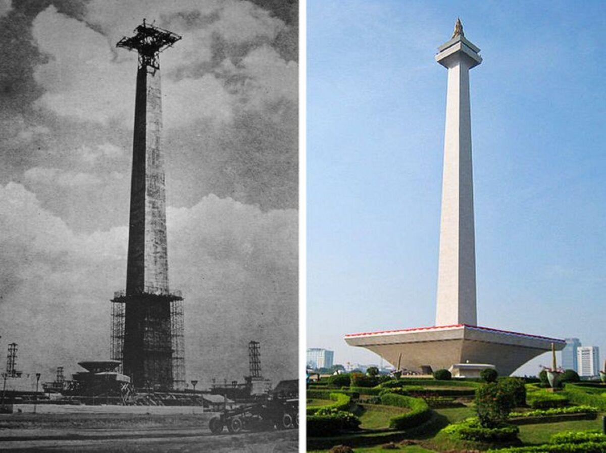 Antes e depois de alguns lugares pelo mundo 20