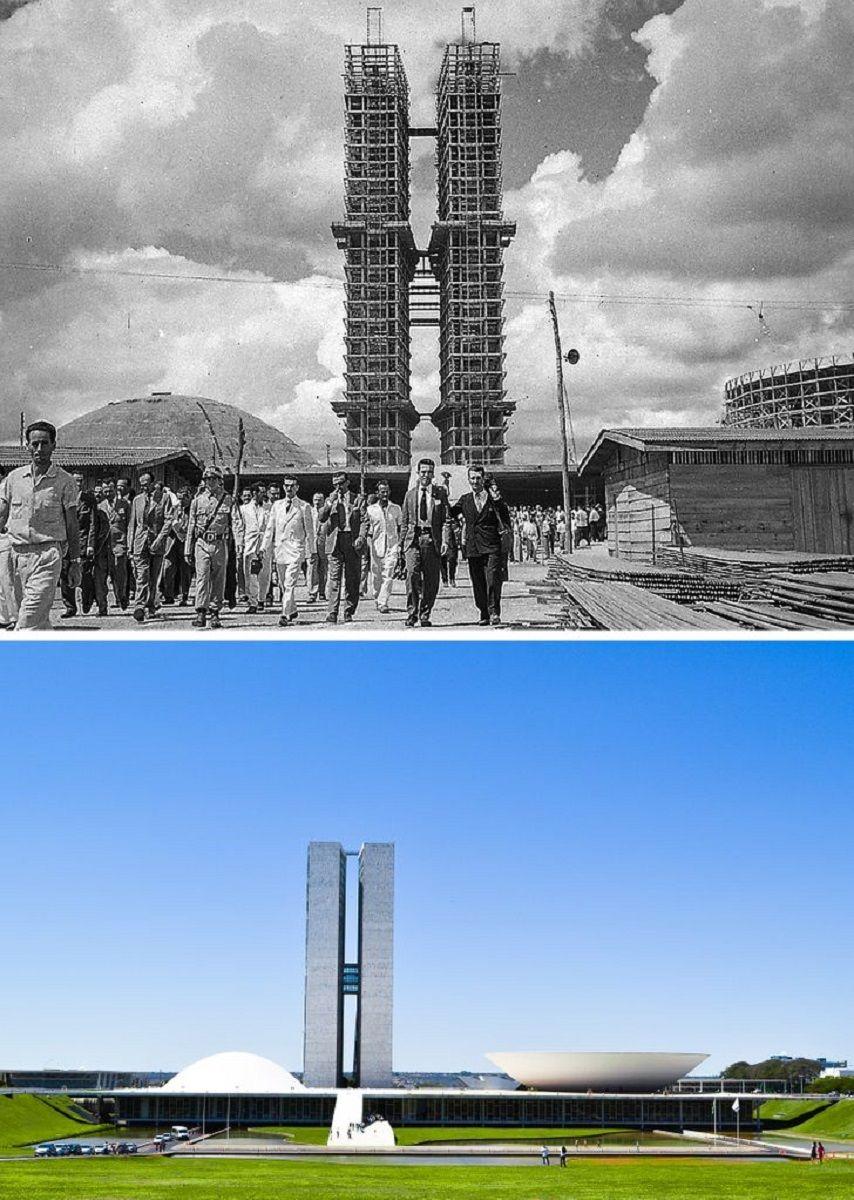 Antes e depois de alguns lugares pelo mundo 6