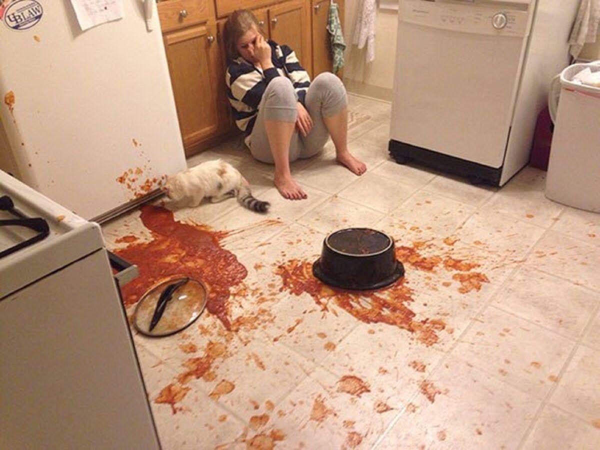 Desastre na cozinha os piores pratos culinarios que voce poderia ver hoje 24