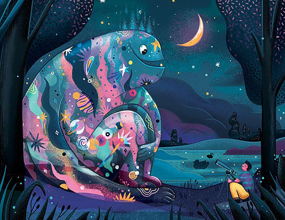 Em projeto Monster Project artistas recriam desenhos feitos por criancas 21