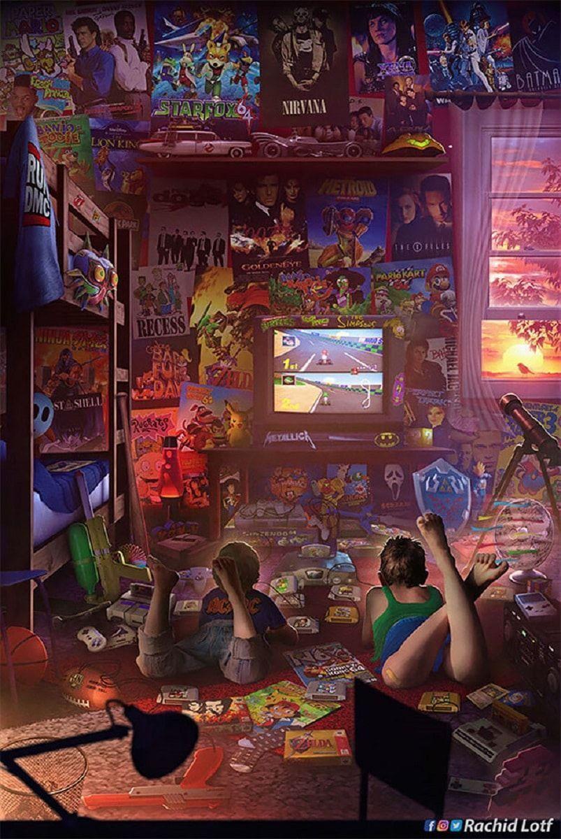 Ilustracoes dos anos 90 essas imagens trarao boas memorias nostalgicas 1