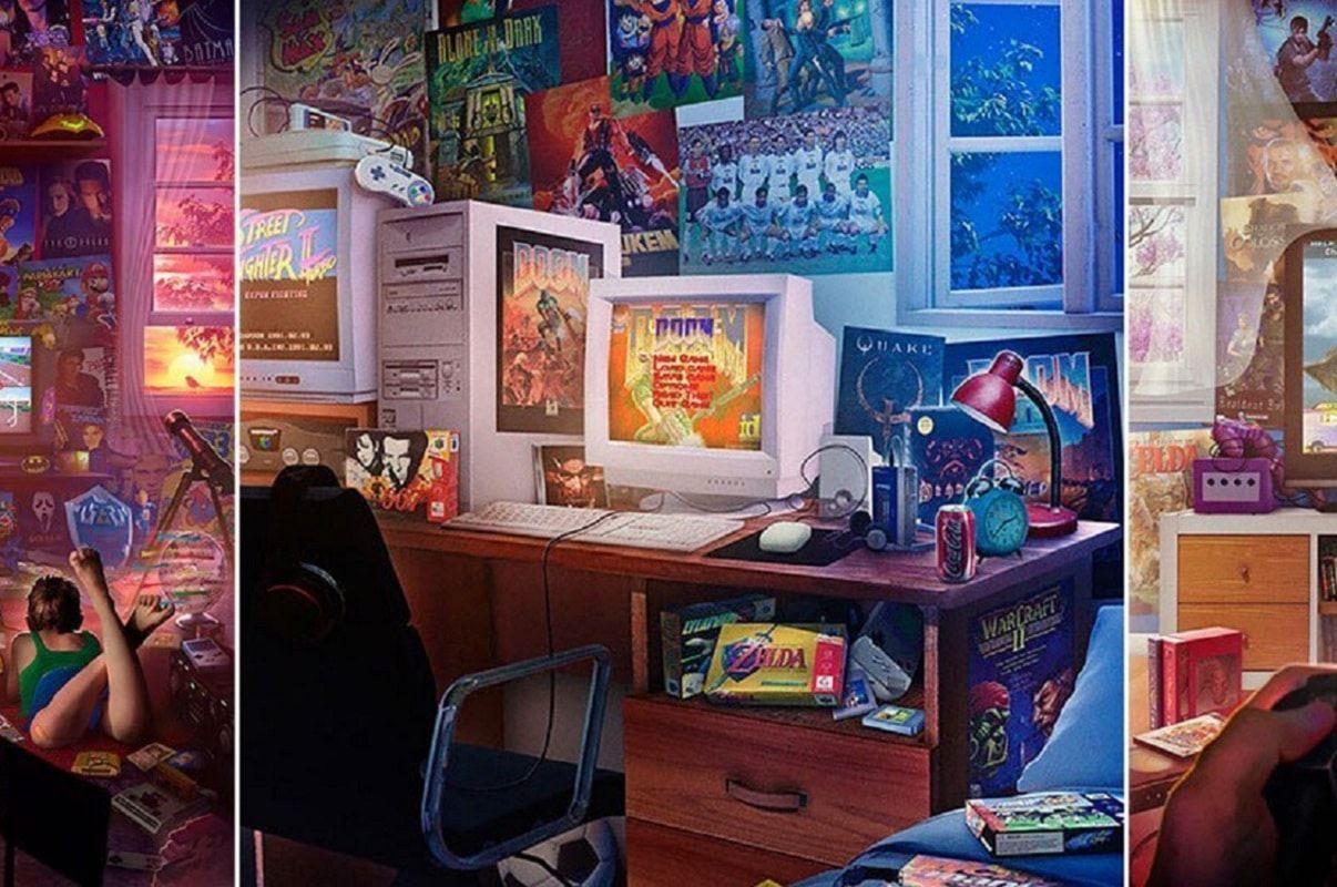 Ilustrações dos anos 90 que vão despertar memórias nostálgicas em você