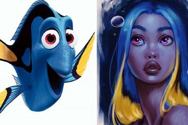 Isabelle Staub artista cria versao humana de animais da Disney 11
