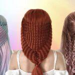 Milena Diekmann adolescente alema cria penteados incriveis e supreende