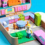 Polly Pockets casas da cultura pop em latas compactas 10