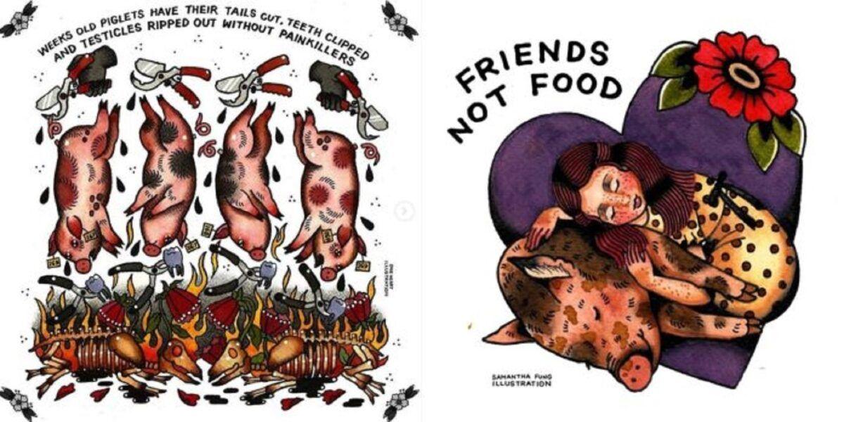 Samantha Fung chinesa cria ilustracoes para estimular compaixao pelos animais 4