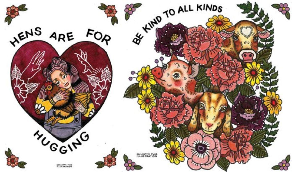 Samantha Fung chinesa cria ilustracoes para estimular compaixao pelos animais 6