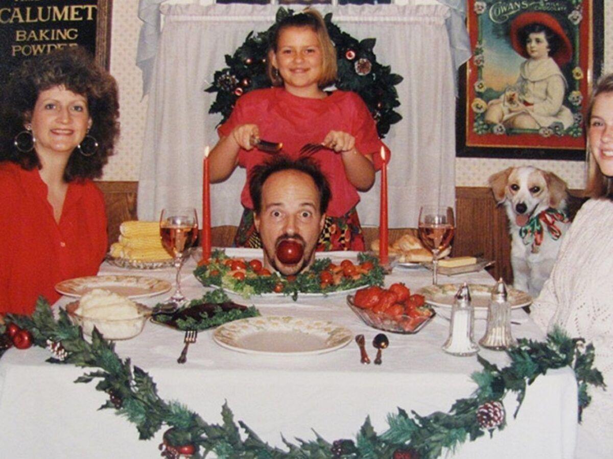 Se voce acha que as suas fotos de familia sao as piores e porque nao viu essas 14