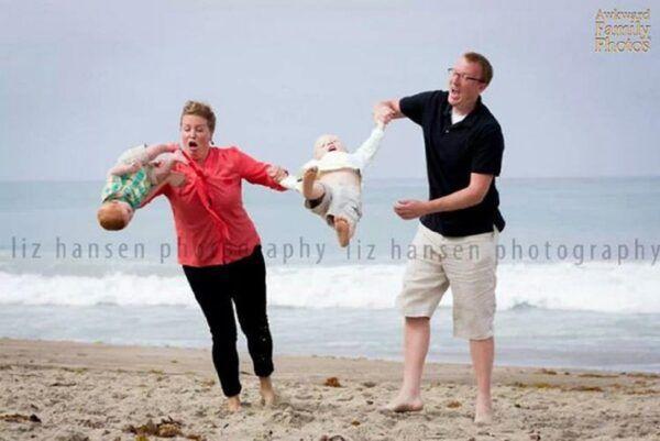 Se voce acha que as suas fotos de familia sao as piores e porque nao viu essas 27