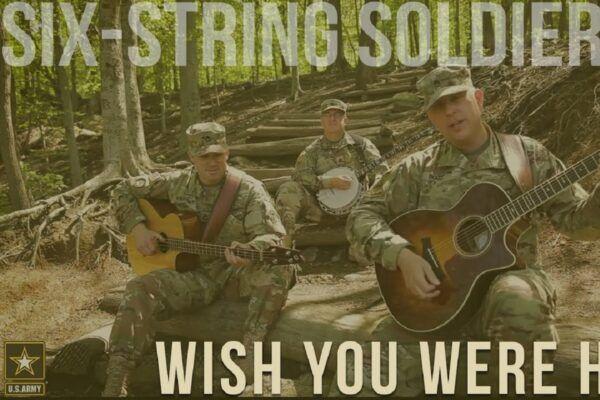 Six String Soldiers grupo de soldados do exercito faz versao de Wish You Were Here do Pink Floyd