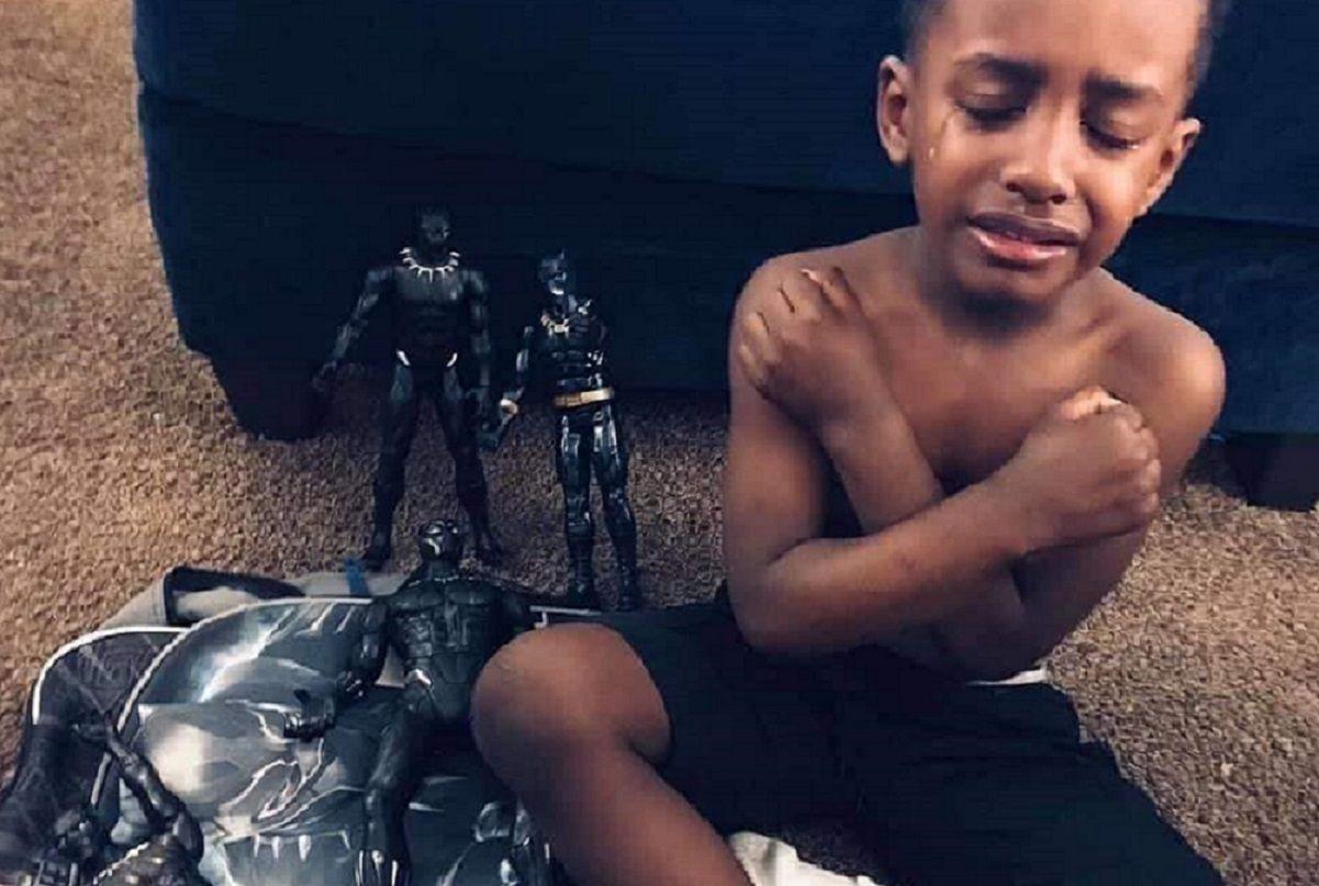 Uma singela homenagem ao nosso eterno Pantera Negra. Obrigado Chadwick Boseman 1
