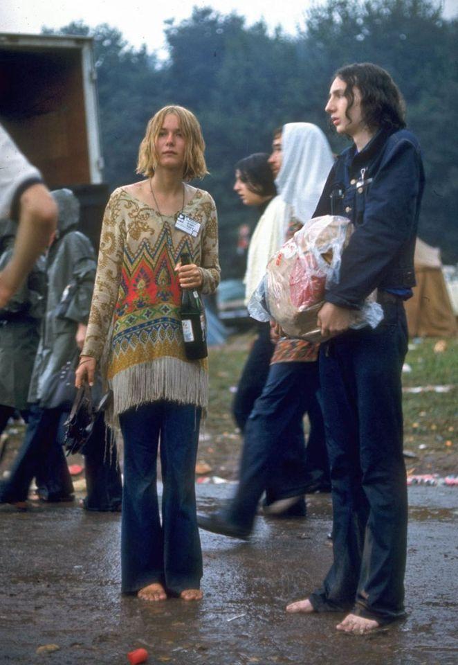 Woodstock 1969 E se a gente resgatar o estilo hippie de volta 2