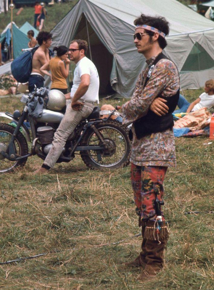 Woodstock 1969 E se a gente resgatar o estilo hippie de volta 27